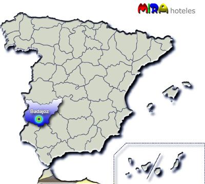 hoteles en provincia de badajoz:
