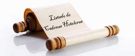 Cadenas Hoteleras en España